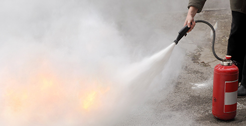 Foam Fire Extinguishers